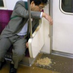 Japanese business man's vomiting life