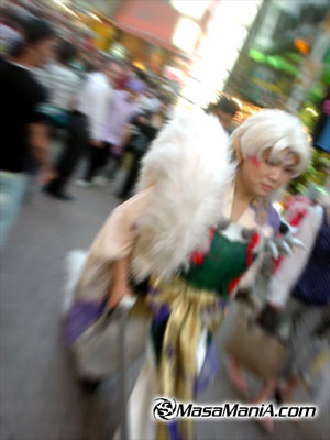 Extreme Inuyasha costume player