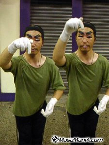 Mad Mime, the most silent anger in Japan