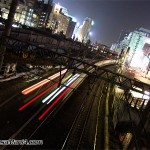Night rail way is device of future city