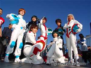 Photo of Cosplay team for perfect csoplay, 2004 winter comike report 04