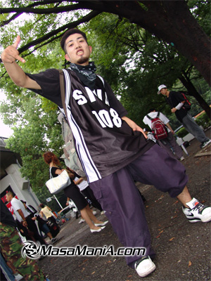 Photo of Japanese street HIP HOP scene