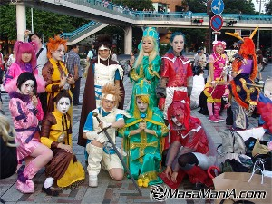 Photo of Fanantic fans of Japanese band, psycho le cemu