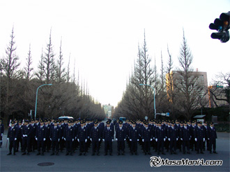 Photo of Awesome ! secret police parade is done while you are sleeping.