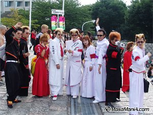 Photo of Fan of Kishidan, traditional school gang style