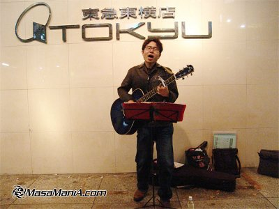 Photo of Street singer story on the Tokyo street
