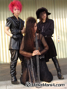 "Photo of Fan of disbanded Japanese rock group, ""Luna Sea"""
