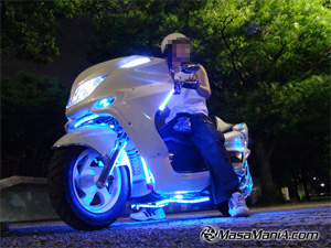 Photo of Cool ! Night scooter team